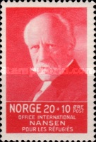 [Fridtj of Nansen Charity stamps for the benefit of The Nansen Office for refugees, Typ AJ2]
