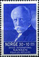 [Fridtj of Nansen Charity stamps for the benefit of The Nansen Office for refugees, Typ AJ3]