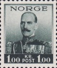[Definitives - King Haakon VII, 1872-1957 - Size: 17 x 21mm, Typ AM]