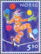 [EUROPA Stamps - The Circus, Typ AMD]