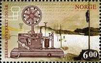 [The 150th Anniversary of the Norwegian Telegraph Service, type APX]