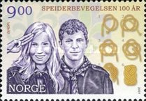 [EUROPA Stamps - The 100th Anniversary of Scouting, Typ ASO]