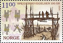[EUROPA Stamps - The 100th Anniversary of Scouting, Typ ASP]