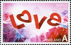 [EUROPA Stamps - Writing Letters - St. Valentine's Day, Typ ATG]