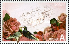 [EUROPA Stamps - Writing Letters - St. Valentine's Day, Typ ATH]