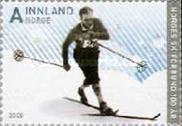 [The 100th Anniversary of the Norwegian Ski Federation - Self-Adhesive, Typ ATL]
