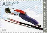 [The 100th Anniversary of the Norwegian Ski Federation - Self-Adhesive, Typ ATM]