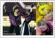 [Europaen Song Contest - Self-Adhesive Stamps, Typ AWO]