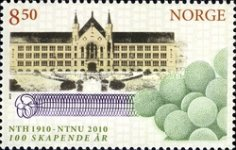 [The 100th Anniversary of the Norwegian University of Technology and Science & The Royal Society of Science and Letters, type AXC]