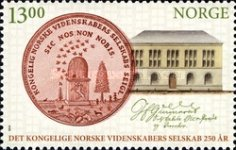 [The 100th Anniversary of the Norwegian University of Technology and Science & The Royal Society of Science and Letters, type AXD]