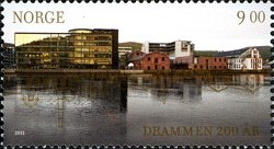 [The 200th Anniversary of the City of Drammen, type AXU]