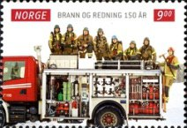 [The 150th Anniversary of the Fire & Rescue Service, Typ AXV]