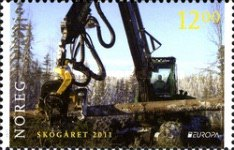 [EUROPA Stamps - The Forest, Typ AXX]