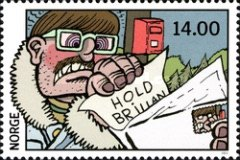 [The 100th Anniversary of Norwegian Comic Strips, Typ AYF]