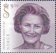 [The 75th Anniversary of the Birth of King Harald V & Queen Sonja, Typ AYN]