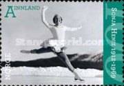 [The 100th Anniversary of the Birth of Sonja Henie, 1912-1969 & Thorbjørn Egner, 1912-1990 - Self Adhesive Stamps, Typ AYQ]