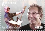 [Norwegian Popular Music - Male Artists. Self Adhesive Stamps, Typ AZF]
