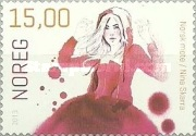 [Norwegian Fashion - Self Adhesive Stamps, Typ AZN]