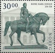 [The 250th Anniversary of the Birth of King Karl Johan, 1763-1844, Typ BAA]