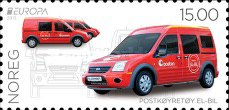 [EUROPA Stamps - Postal Vehicles, Typ BAG]
