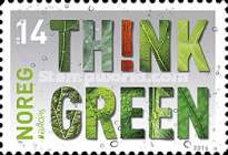 [EUROPA Stamps - Think Green, Typ BDG]