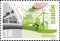 [EUROPA Stamps - Think Green, Typ BDH]