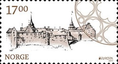 [EUROPA Stamps -  Palaces and Castles, Typ BED]