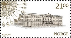 [EUROPA Stamps -  Palaces and Castles, Typ BEE]