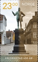 [The 450th Anniversary of the City of Fredrikstad, Typ BEF]