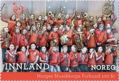[The 100th Anniversary of the Norwegian Marching Band Association, Typ BFB]