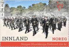 [The 100th Anniversary of the Norwegian Marching Band Association, Typ BFC]