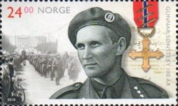 [The 100th Anniversary of the Birth ofGunnar Sønsteby, 1918-2012, Typ BFD]