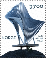 [The 100th Anniversary of the Birth of Carl Nesjar, 1920-2015, Typ BHE]