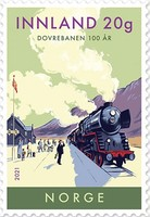 [The 100th Anniversary of the Dovre Railway Line, type BHT]