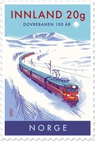 [The 100th Anniversary of the Dovre Railway Line, type BHU]