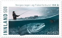 [The 150th Anniversary of the Norwegian Hunters and Anglers Association, type BHV]