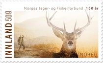 [The 150th Anniversary of the Norwegian Hunters and Anglers Association, type BHW]