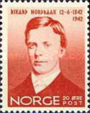 [The 100th Anniversary of the Birth of the Composer Rikard Nordraak, Typ BI1]