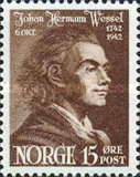 [The 200th Anniversary of the Birth of Johan Herman Wessel, Typ BM]