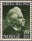 [The 100th Anniversary of the Birth of Edv. Grieg, Typ BO]