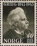 [The 100th Anniversary of the Birth of Edv. Grieg, Typ BO2]