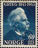 [The 100th Anniversary of the Birth of Edv. Grieg, Typ BO3]