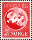 [The 75th Anniversary of the Universal Postal Union, Typ DG]