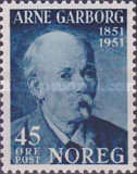 [The 100th Anniversary of the Birth of the Poet Arne Garborg, Typ DM1]