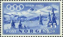 [Winter Olympic Games - Oslo, Norway, Typ DP]