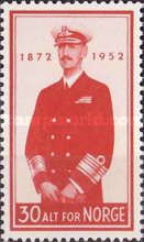 [The 80th Anniversary of the Birth of King Haakon, type DQ]