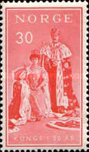 [The 50th Anniversary of the Reign of King Haakon VII, Typ EG]