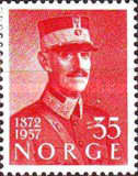 [The 85th Anniversary of the Birth of King Haakon VII, Typ EM]