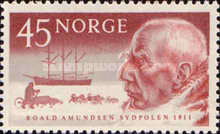 [The 50th Anniversary of Roald Amundsen's Arrival to the Anarctic Regions, Typ FL]