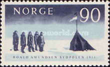 [The 50th Anniversary of Roald Amundsen's Arrival to the Anarctic Regions, Typ FM]